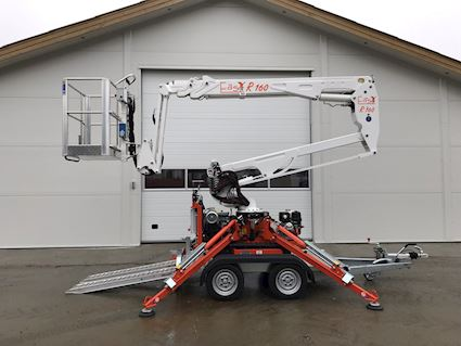 Easy Lift R160 Trailermountet lifts