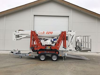 Easy Lift R210 Trailermountet lifts