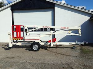Matilsa 12e Trailermountet lifts