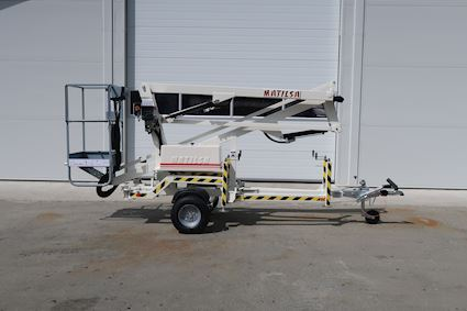 Matilsa 9,5m - kun 740kg Trailermountet lifts