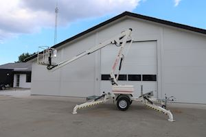Matilsa 12T Trailermountet lifts