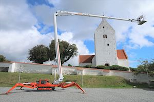 Easy Lift RA26 - leasing fra 6700kr+m Spider Lifts